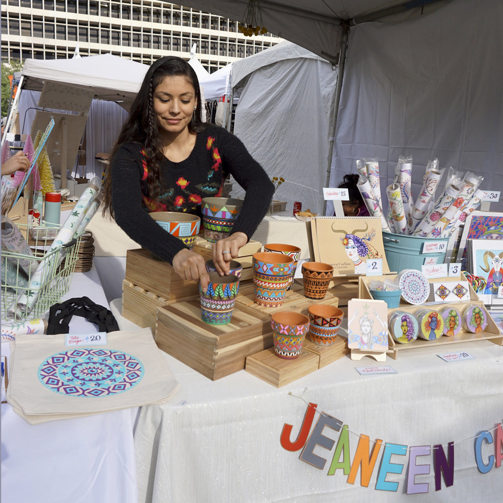 Renegade Craft Fair (Holiday Market 2015) - Downtown Los Angeles, CA