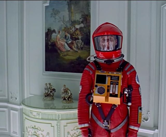 Still revelling in the genius that is Stanley Kubrick .. Haven't watched #2001aspaceodyssey since I was a we babe.. Thank you Netflix
