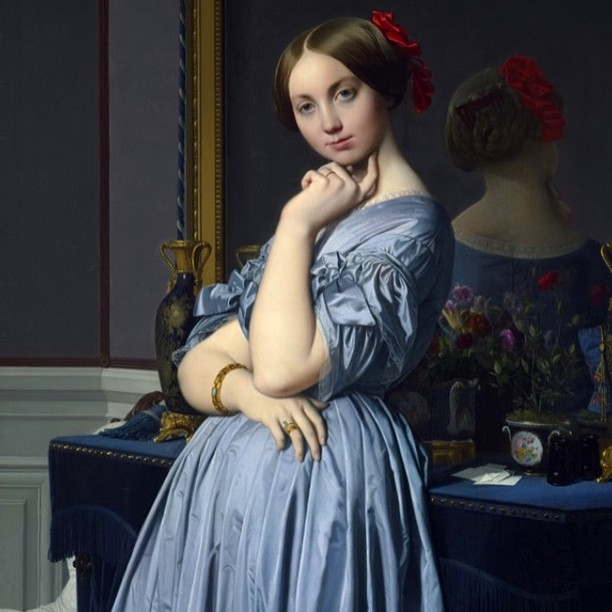 @travislouie thank you for spending the entire day with me in museums. For bringing my eyes to this Ingres. For sharing so much about the world of art history. You are a world of knowledge, I can't wait to do it again. #Ingres