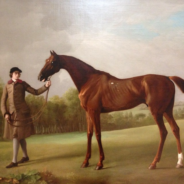 Here's another, just because I want to share. The look in the horses eye makes me laugh! I also want to pet him and feed him some carrots #georgestubbs #themetmuseum