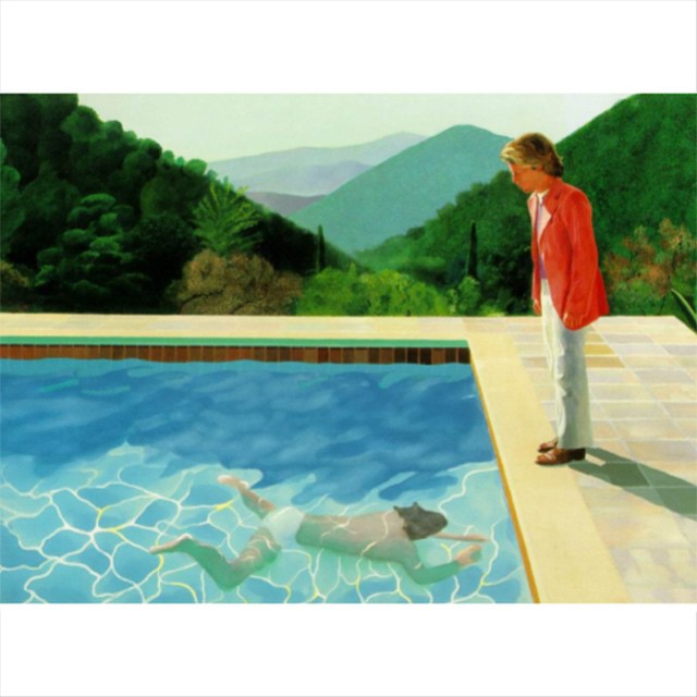 Off to find the sweet dreams #davidhockney