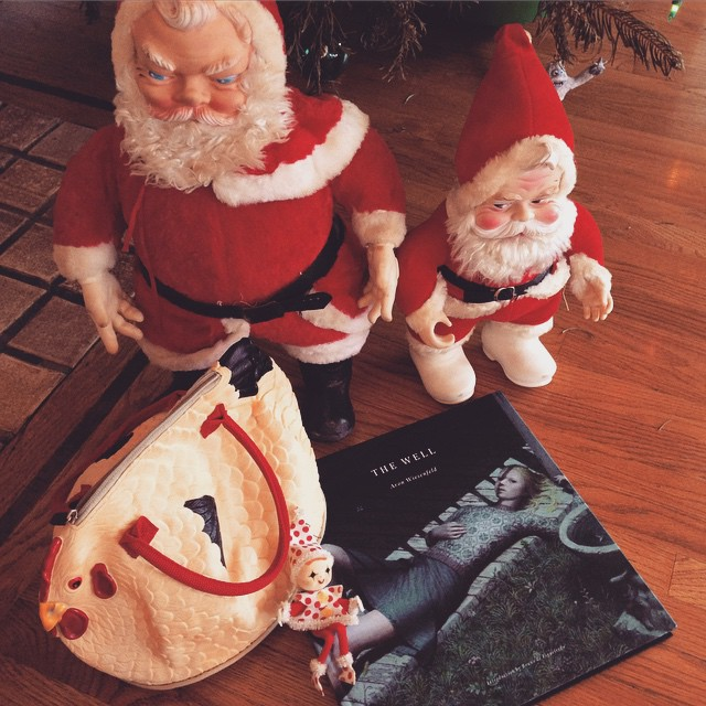ho ho ho and the new beautiful art book from @aronwiesenfeld