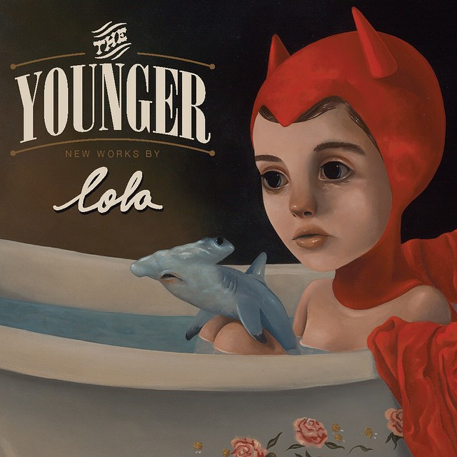 Just like that, it's December!!! All new works exhibiting December 13th - January 3rd I hope to see you there! #theyounger #lolafineart