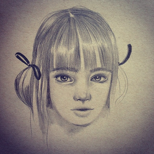 Retreating #innocence #sketch #lolafineart