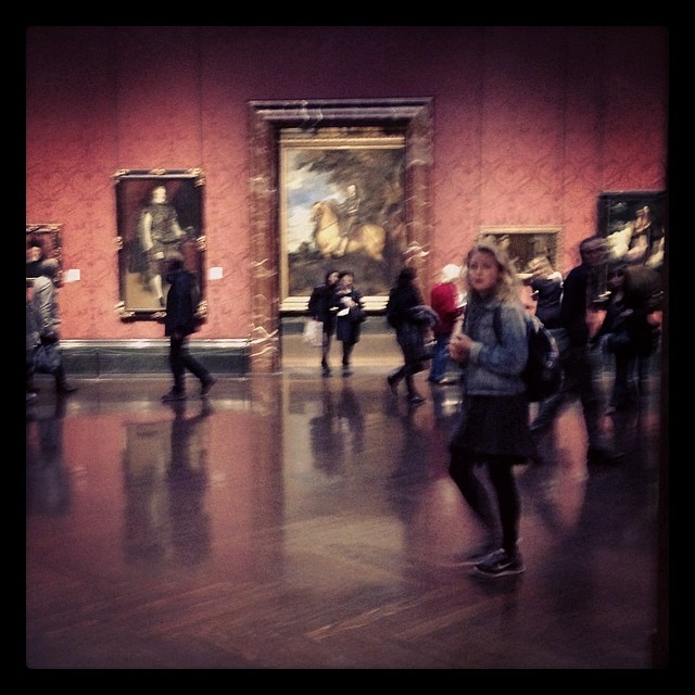 Everything in motion #myhappyplaceinlondon #AnthonyVanDyck