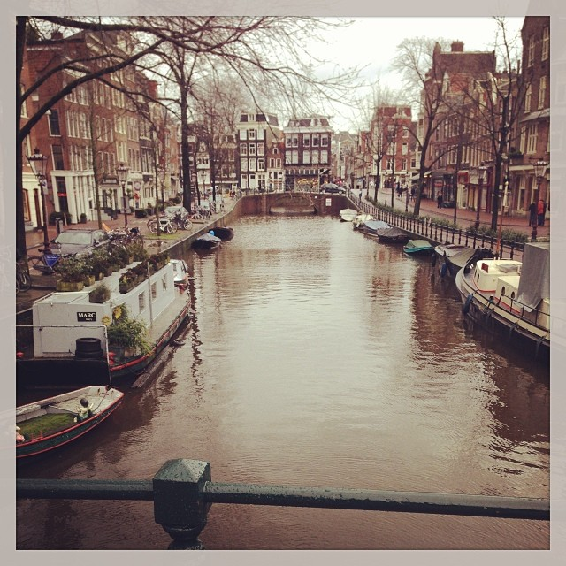 Amsterdam :) it's incredibly beautiful here