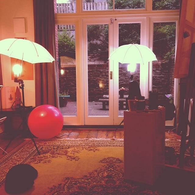 My England sun #studio