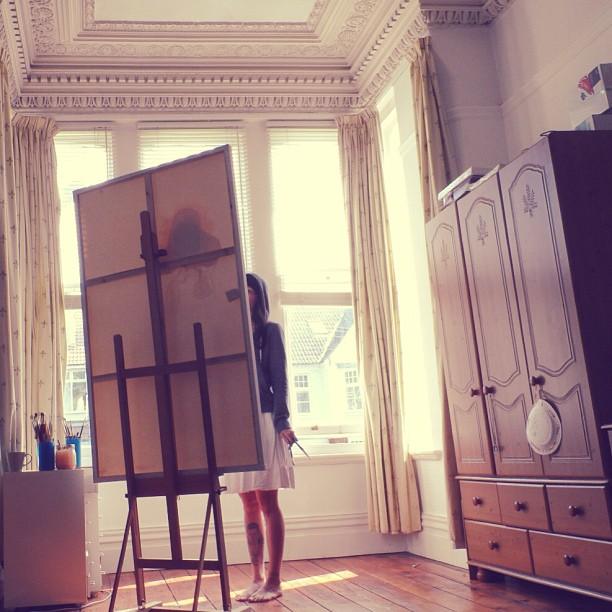 Warm sunshine English studio 💕