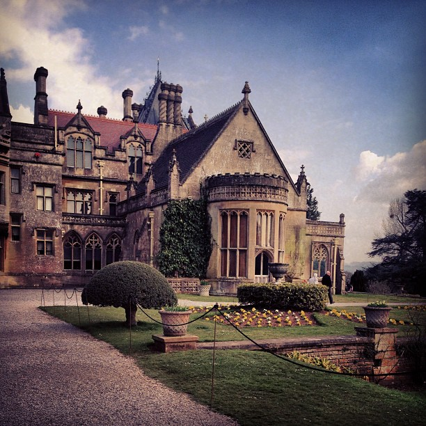 I'm pretty far from Coachella this year. First time in many years. I'm grouchy, but I just bought this new house #jk (at Tyntesfield House (NT))