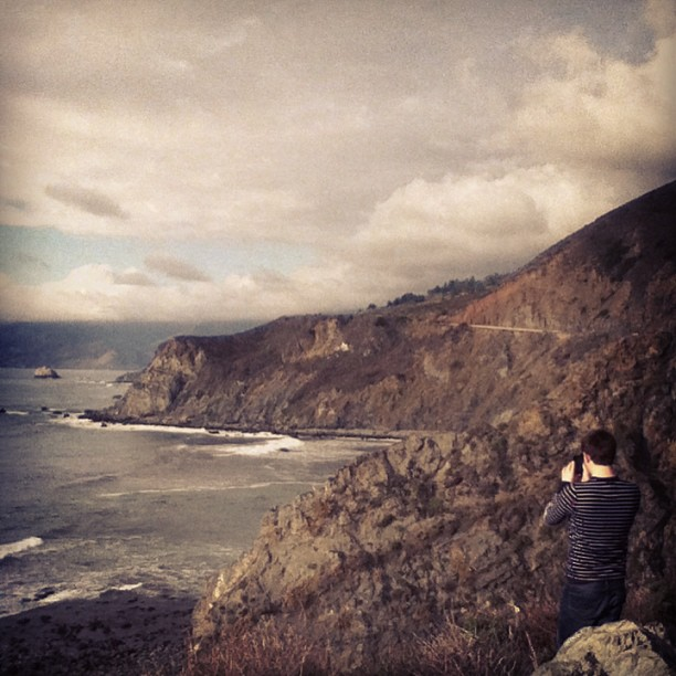 Gorgeous California coast with my love @bobby_lamps