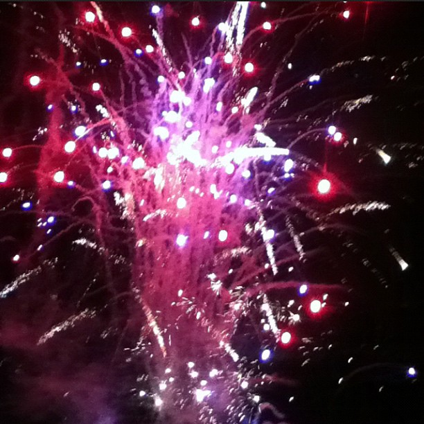 Learned all about Guy Fawkes tonight with fireworks set off by the members of Devo