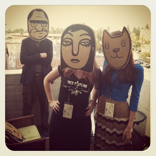 Meow with Daniel Peacock and @brandimilne (Taken with Instagram)