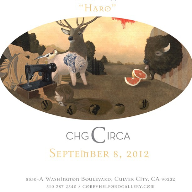 Coming soon! #Haro #coreyhelfordgallery #circa (Taken with Instagram)