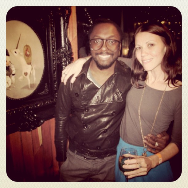 Lately I keep dreaming @iamwill shows up to hate my parties, but at this one we had fun #flashbackfriday (Taken with Instagram)