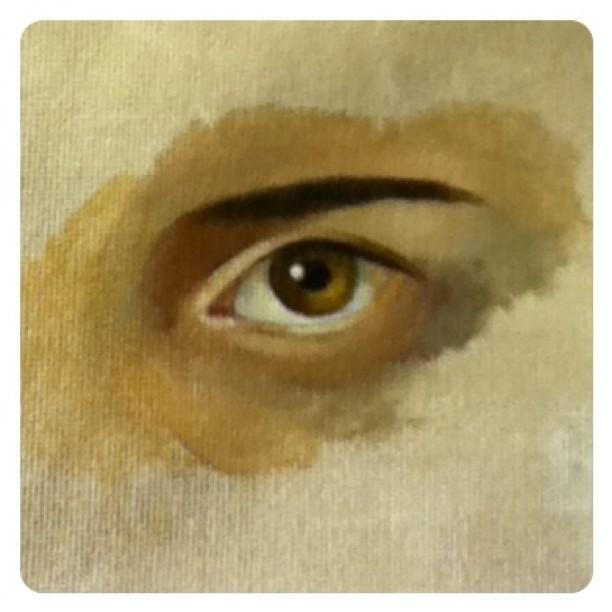 Eye oil study 1 hr (Taken with instagram)