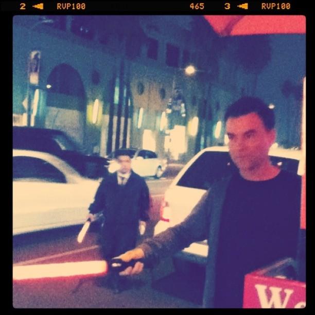 """@ROSS_ROBINSON """"Lightsaber"""" (Taken with instagram)"""