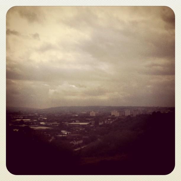 Sunday on top of Bristol (Taken with instagram)