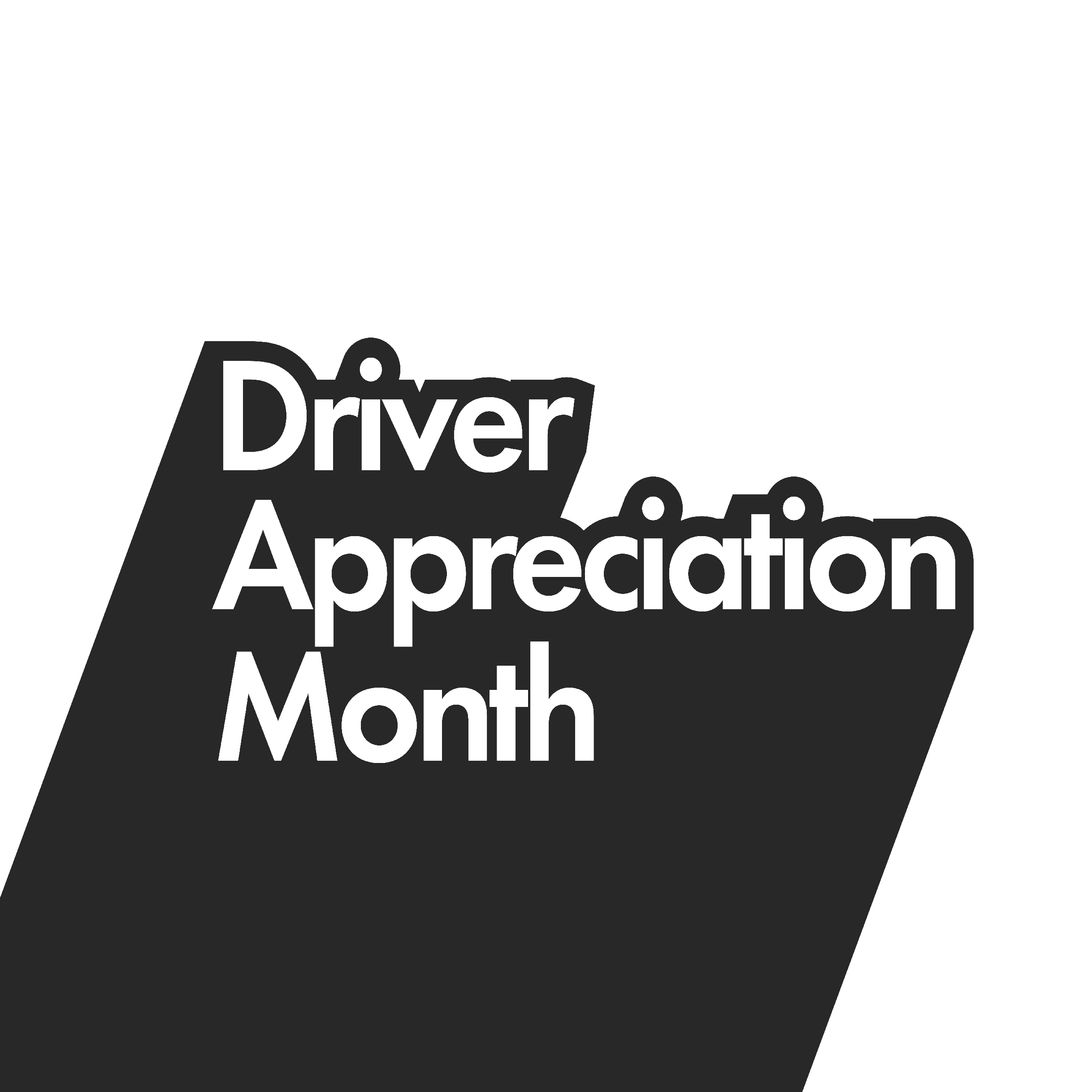 Cargo Driver Appreciation Month Event Logo