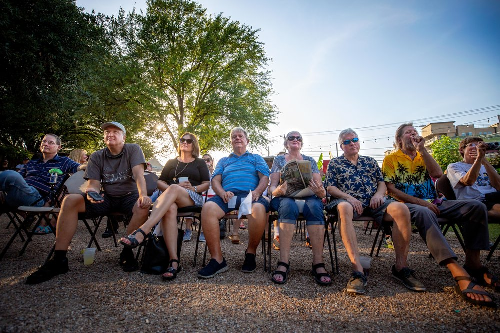 AUSTIN, TX. July 20, 2018. KUTX and Threadgill's World HQ are teaming up so you can enjoy great live music in the garden, while helping alleviate food insecurity in our community. Join us every Friday in July for a FREE concert with some of our favorite local bands, where we'll be collecting non-perishable food items for the Central Texas Food Bank. Montinique Monroe for KUTX