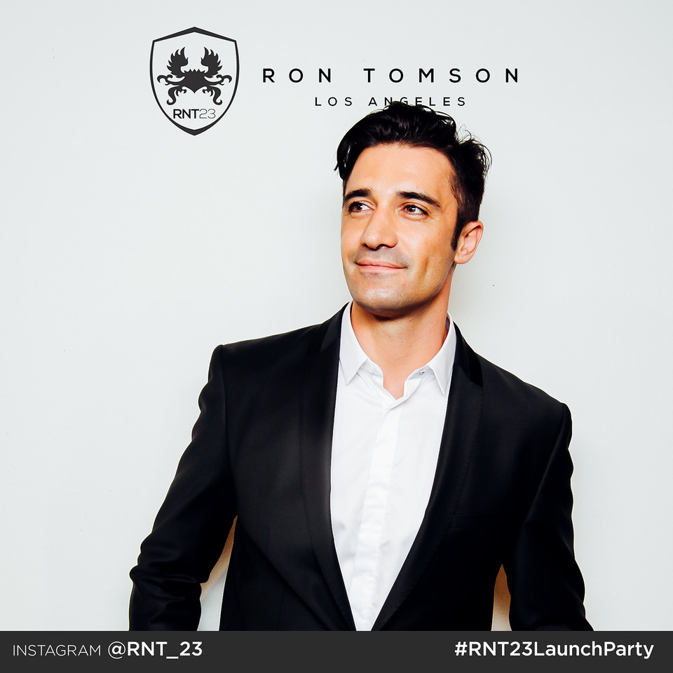 Gilles Marini at Ron Tomson Launch Party
