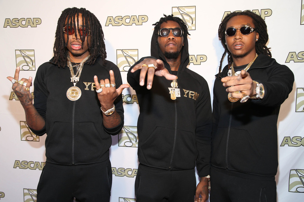 Migos at ASCAP Grammy Brunch