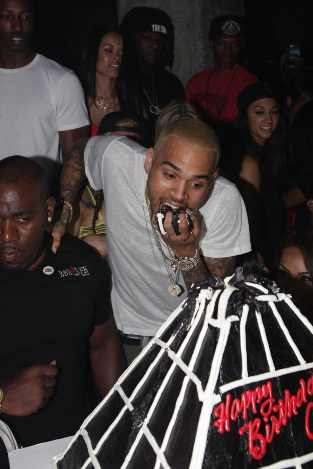 Chris Brown's 23rd Birthday at Emerson