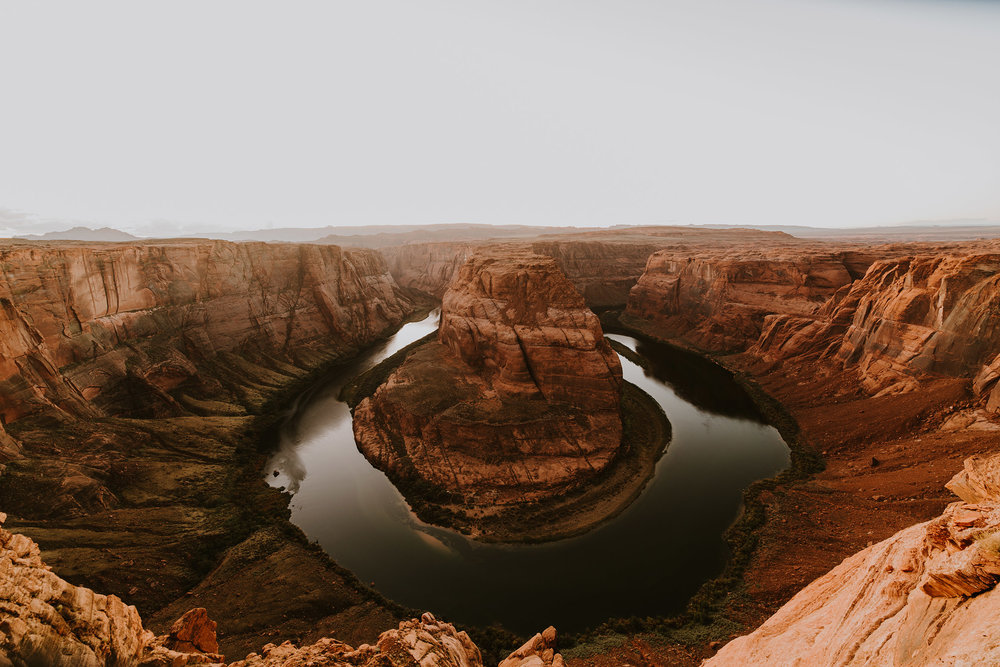 HORSESHOE BEND / ANTELOPE CANYON / ARIZONA.