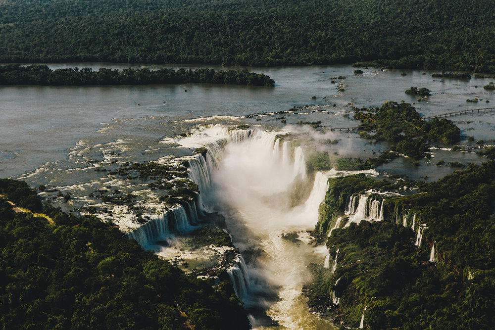 IGUACU FALLS / BRAZIL.
