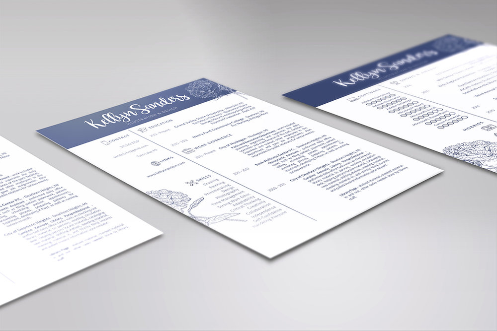 Resume Mock Up