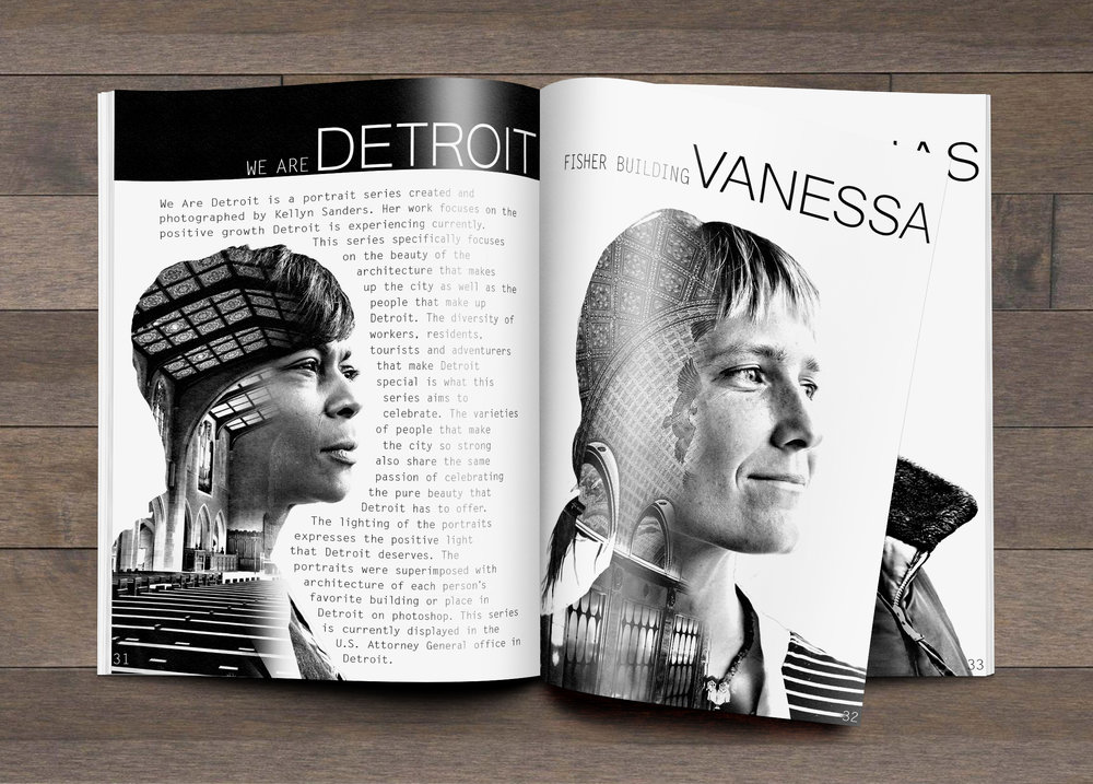 We Are Detroit Magazine Mock Up