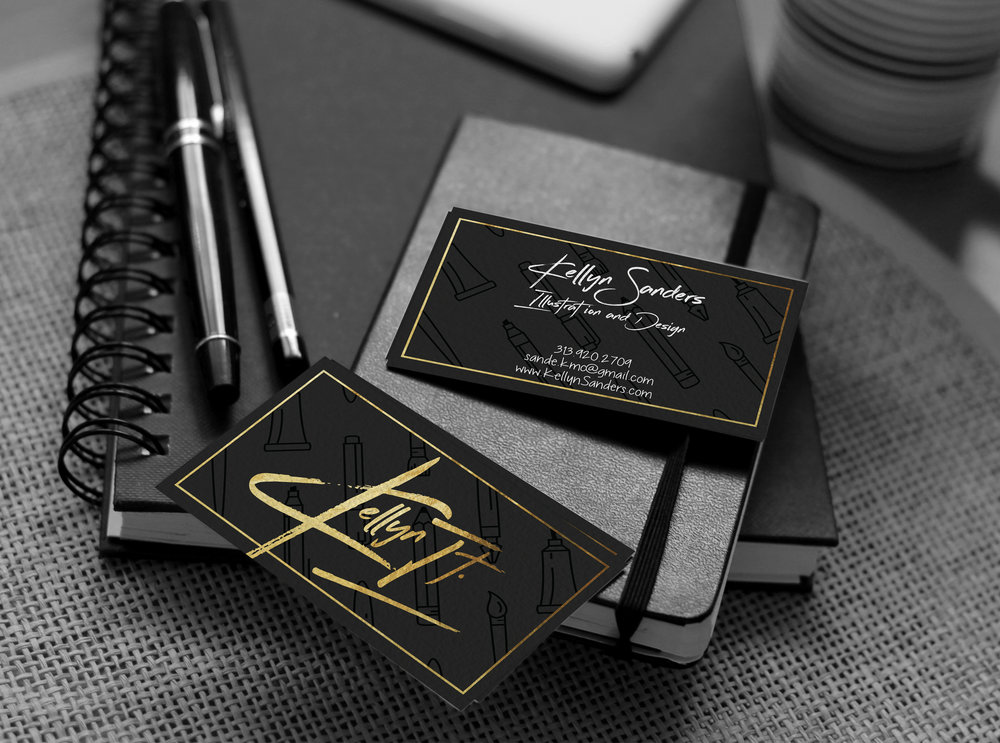 Kellyn It Business Card Design