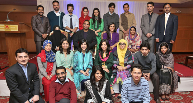 The Atlantic Council's South Asia Center chose 15 of Pakistan's rising youth for the 2015 Emerging Leaders of Pakistan fellowship. (Photo: Atlantic Council)