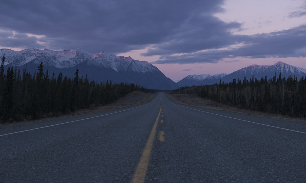 The Gates of Kluane National Park and Reserve. (Haines Jct., Yukon Territory.)