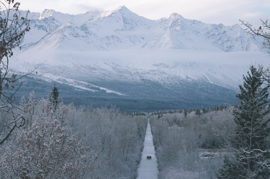 """""""Miles from nowhere... guess I'll take my time."""" - Cat Stevens (Haines Jct., Yukon Territory)"""