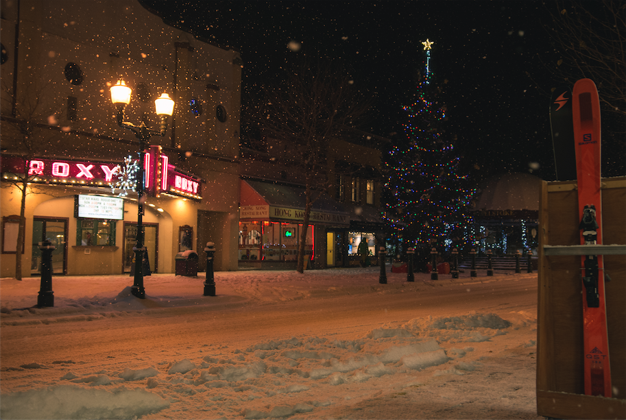 Not skiing on Christmas in the Kootenays is probably a punishable offense. (Revelstoke, BC)