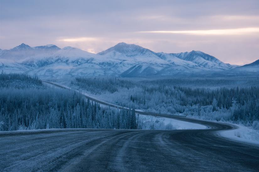 To the next thousand miles... (Alaska Highway, Yukon Territory)