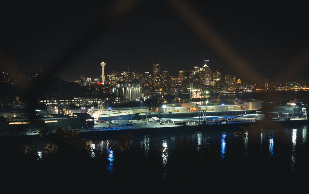 Always on the outside looking in--it wasn't you Seattle, it was me. ( Seattle, WA )