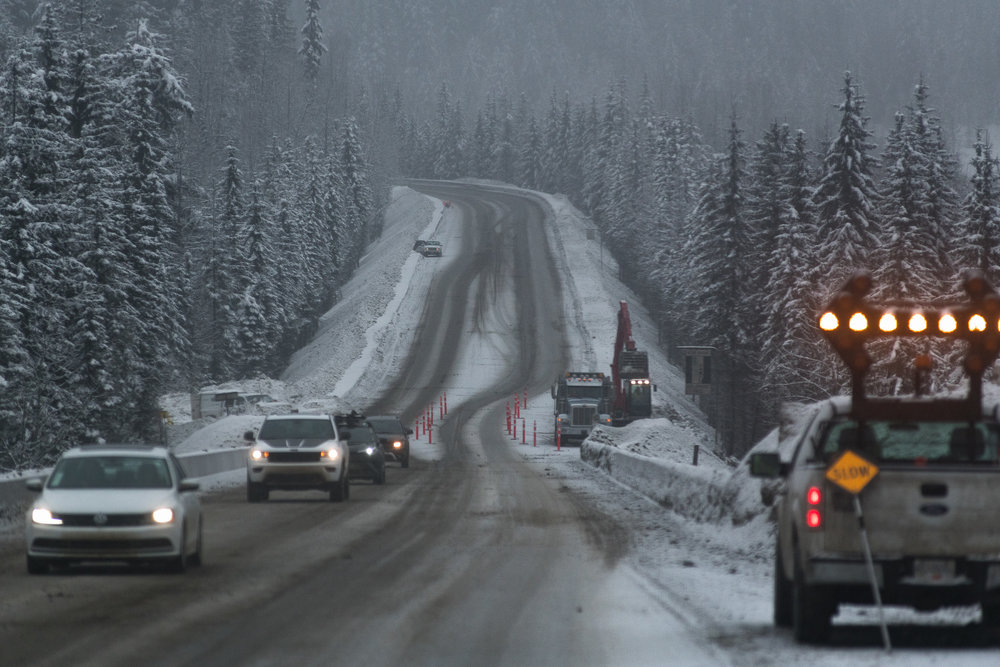 Slow. Down. - Rogers Pass sees more fatal vehicle accidents than almost any other highway pass in Canada, despite seeing far less traffic than its metropolitan peers.