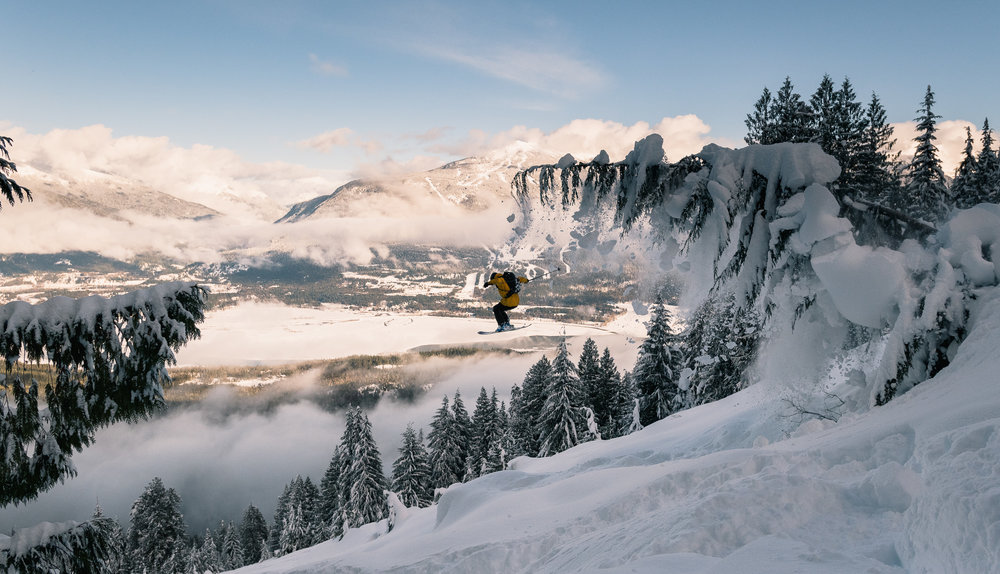 Frequent Flyer - Earn your turns (& flight time) in the backcountry.