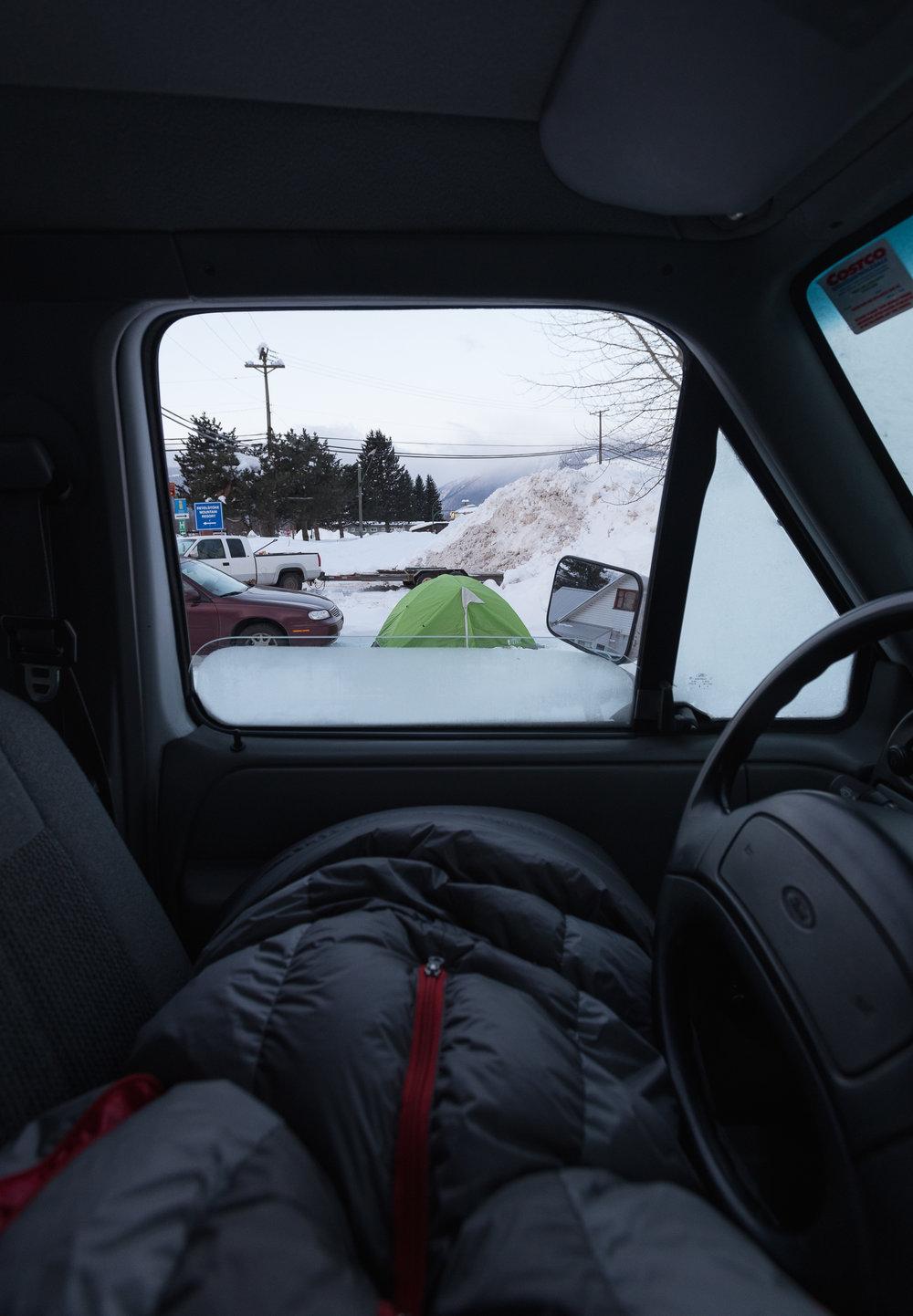 Ski bumming. - Luxury Accommodations.