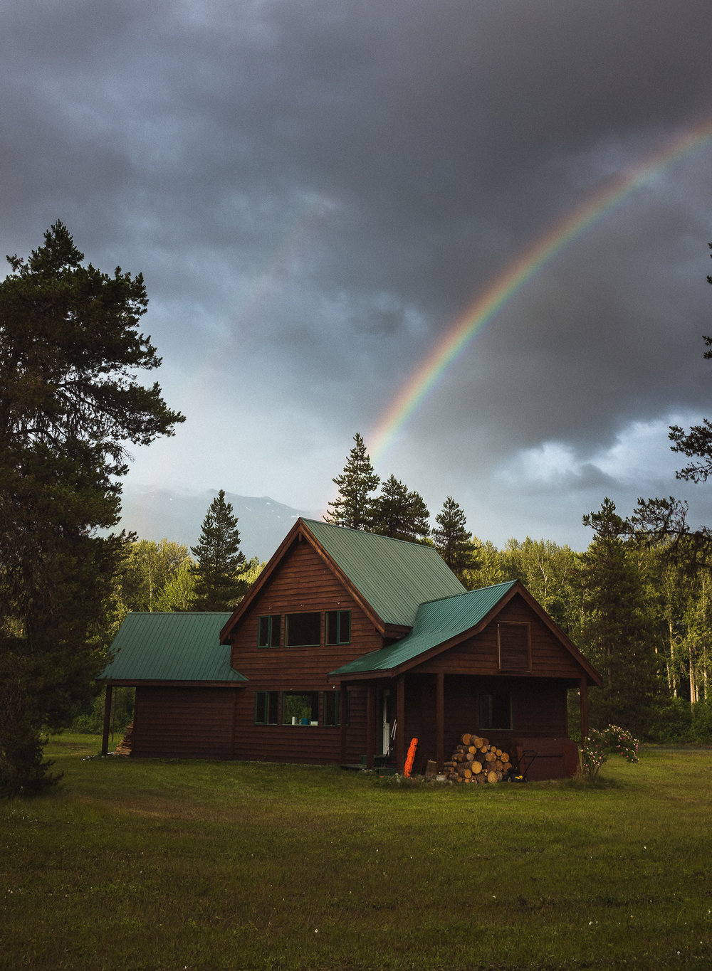 Welcome Home - Off the grid.