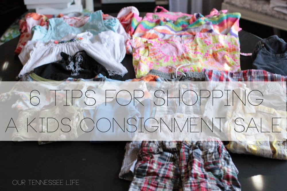 6 tips for shipping a kids consignment sale