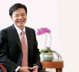 Lawrence Wong - Acting Minister for Culture, Community and Youth and Senior Minister of State, Minister of Communications and Information.