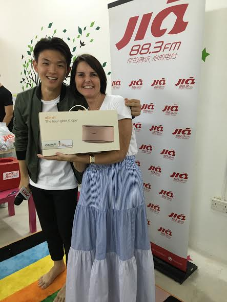 Plenty of Smiles and prizes thanks to 88.3JIA FM!