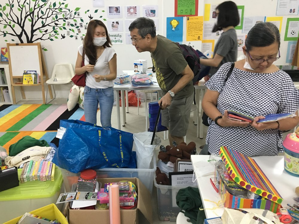 We were visited by #WorldChangeAgent, Sera, and her friends who will be bringing excess supplies we had in our space to communities in Batam, Vietnam and other communities in the ASEAN region.