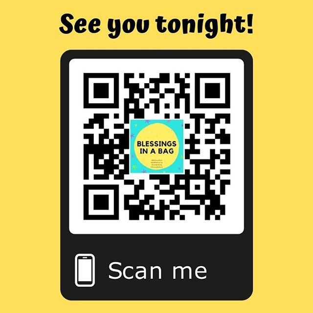 Scan this #QRcode or pass it along to friends and it will show all the latest updates and details for our #WCAhangout and Jumble Sale this evening! 😍 We can't wait to see you later today for fun, friendship, food and yes...retail therapy for a good cause! All are welcome 🎉💥👋🏻 〰️ 〰️ 〰️ 👩🏻‍💻www.blessingsinabag.co ✏️ blessingsinabag@gmail.com 🐥 www.twitter.com/blessingsinabag