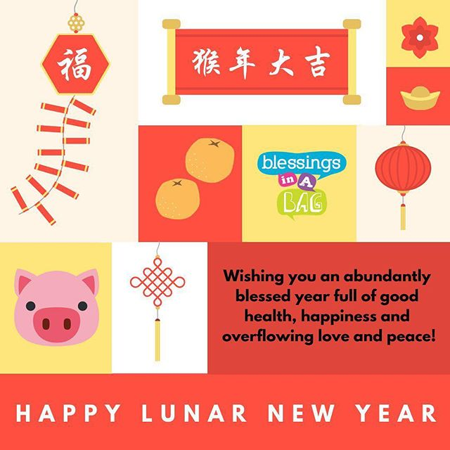 Happy Lunar New Year! 🍊🍊 With love from #TeamBlessings!  P.S We are closed for donations-in-kind at the moment as we have received a generous amount and space is limited. We are grateful 💕  We update our website, Instagram and Facebook when we do have a donation drives running, events and all that fun stuff so do keep a 👀 out!  #ChineseNewYear #LunarNewYear #CNY2019