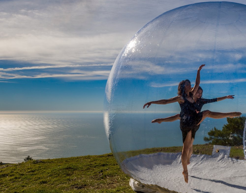 "Kim Holt and Camryn Kelly - Printz Dance Project's ""GLASSlands"" by Jeff Zender"