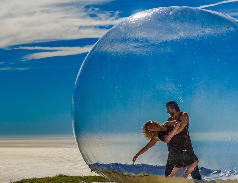 "Stacey Printz and Jorge Vazquez - Printz Dance Project's ""GLASSlands"" by Jeff Zender"