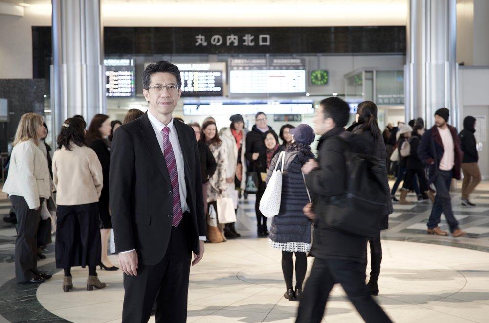 Finance Specialist and Entrepreneur Takashi iizuka